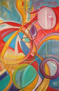 "Art Gallery - Artist: Michael Angelides. ""Behind the Wheel"""