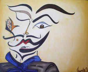 "Art Gallery - Artist: Fawnette. ""Dali Picasso"""