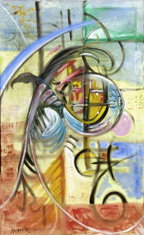 "Art Gallery - Artist: Michael Angelides. ""Bird of Prey"""