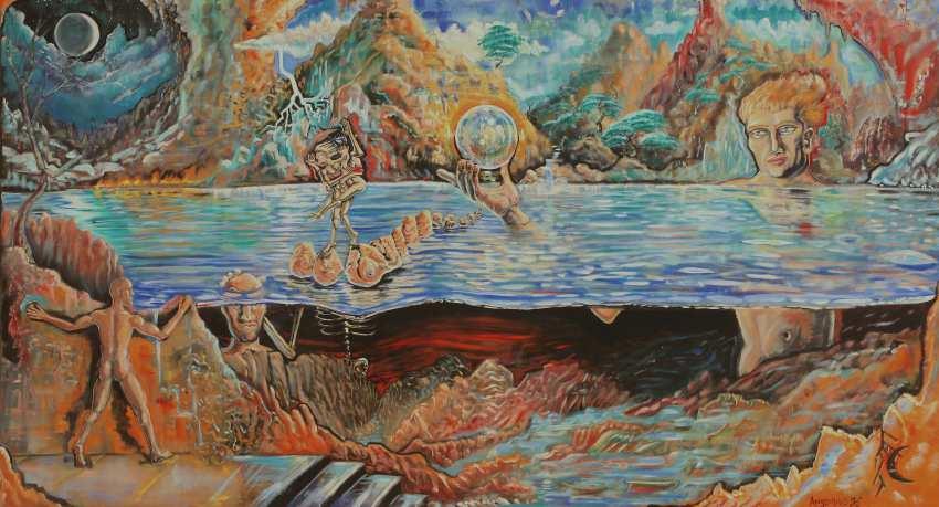 Art Gallery - Michael Angelides. Prometheus