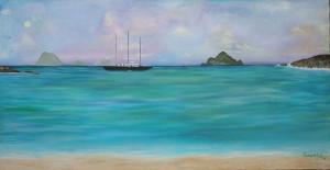 "Art Gallery - Artist: Fawnette. ""Sea of Serenity"""