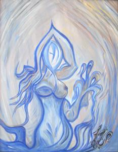 """Art Gallery - Artist: Fawnette. """"The Blue Lady"""""""