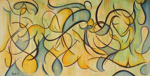 "Art Gallery - Artist: Fawnette. ""The Gemini Lovers"""