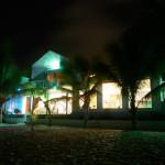 Azure at night