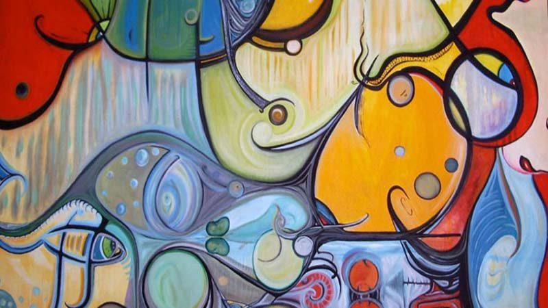"FROM THE ART STUDIO – Artist: Fawnette. ""Life Aquatic"""